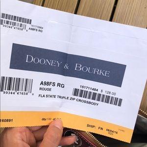 Dooney & Bourke Bags - FSU Dooney & Bourke Crossbody